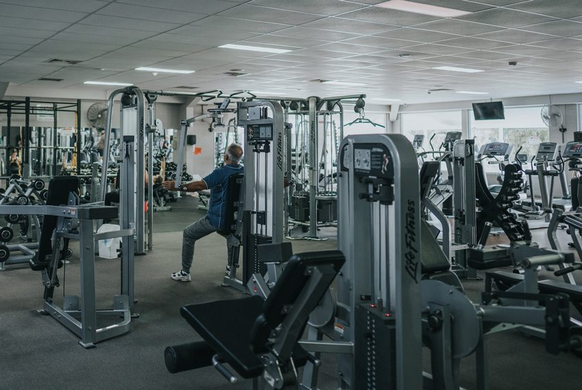 A wide shot of Focus Well-being and Fitness Gym Equipment